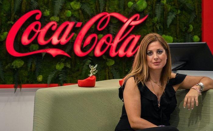 Η Σίσσυ Ηλιοπούλου σε διεθνή ρόλο στη The Coca-Cola Company