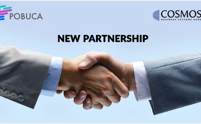 Στρατηγική συνεργασία Cosmos Business Systems και Pobuca