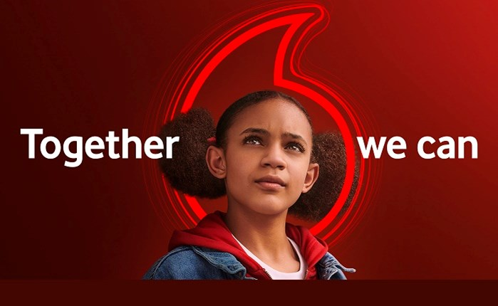 """Vodafone: Nεο brand position """"Τogether we can"""""""