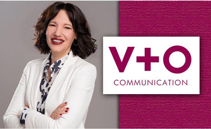 Η Εύη Τσουράκη στη V+O Communication