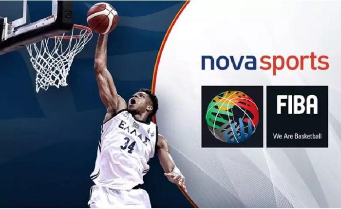 FIBA και Novasports μαζί για τα επόμενα χρόνια