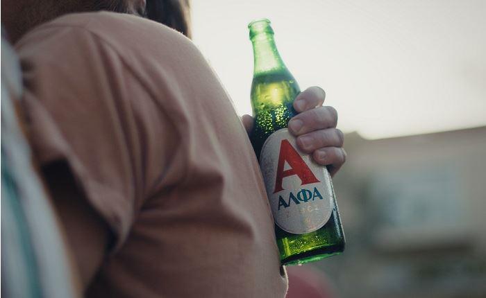 Soho Square Athens: Nέα καμπάνια για την μπύρα ΑΛΦΑ
