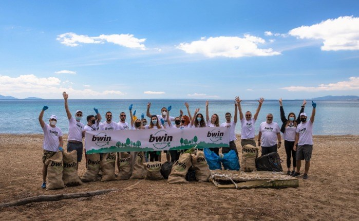 bwin goes green: Εθελοντική περιβαλλοντική δράση της ομάδας της bwin