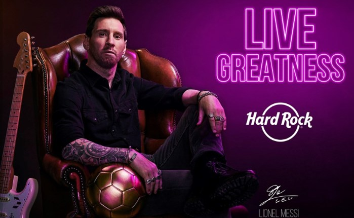 Hard Rock: Γιορτάζει τα 50 χρόνια ίδρυσής της ανακοινώνοντας την συνεργασία της με τον Lionel Messi