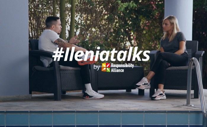 «Ilenia talks by Responsibility Alliance»: Καλεσμένος στο νέο επεισόδιο, ο Λευτέρης Πετρούνιας