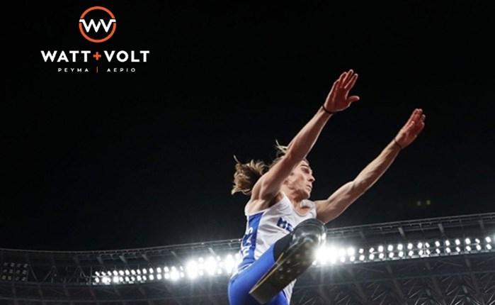 WATT+VOLT: Υπερήφανος υποστηρικτής του Στέλιου Μαλακόπουλου στους Παραολυμπιακούς Αγώνες του Τόκιο