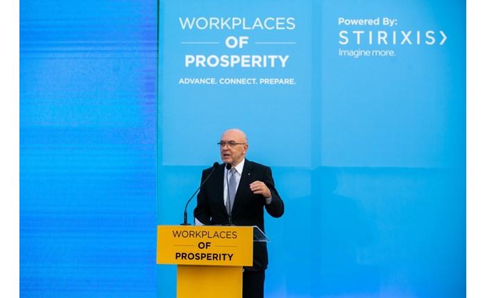 STIRIXIS Group: Εγκαινίασε με απόλυτη επιτυχία το πρώτο «Workplaces of Prosperity»