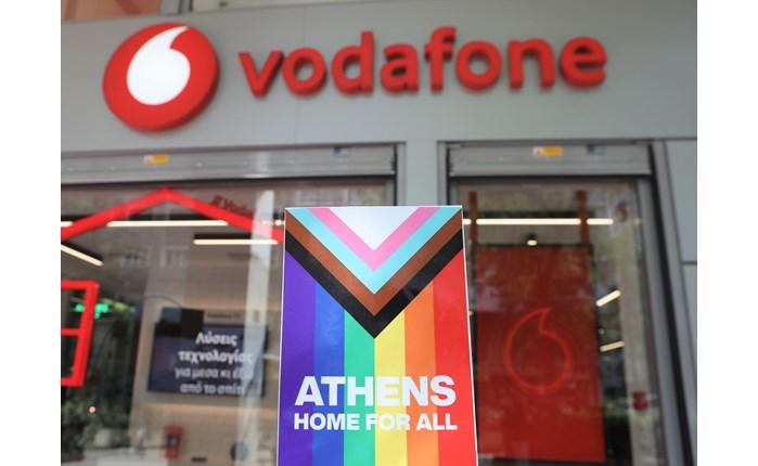 Vodafone: Στηρίζει την διαφορετικότητα με το μήνυμα «Athens Home for All»