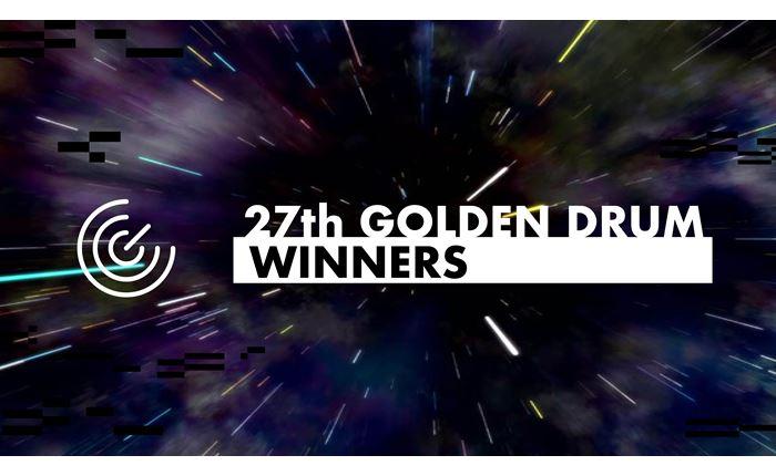 Το 27ο Golden Drum Festival ανακοίνωσε τους Νικητές