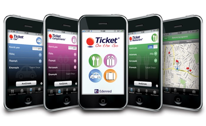 Edenred: Ticket On The Go στο iPhone