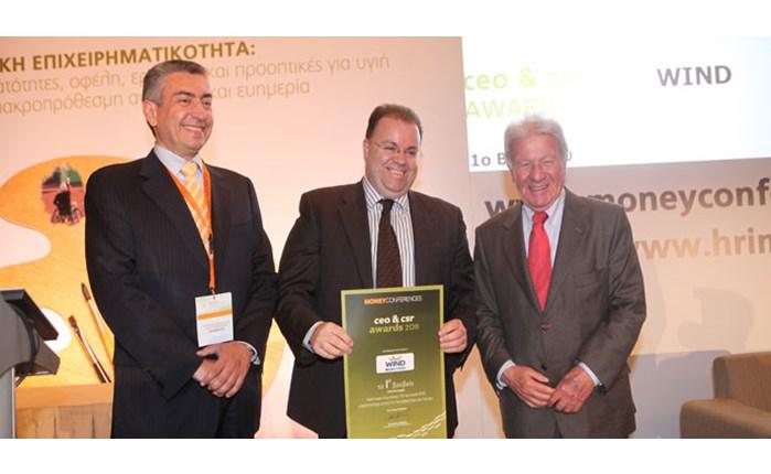 Βραβείο καλύτερης καμπάνιας ΕΚΕ στη Wind