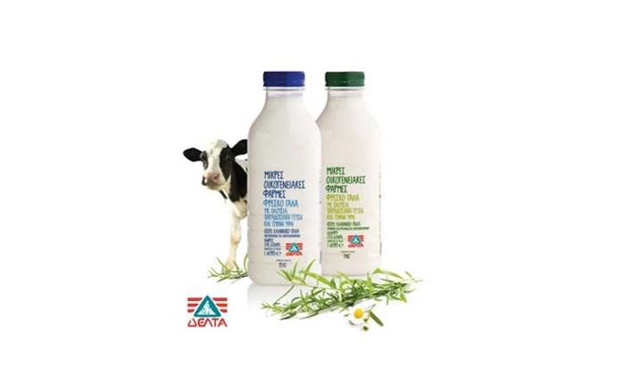 Διάκριση για το νέο φρέσκο γάλα της ΔΕΛΤΑ