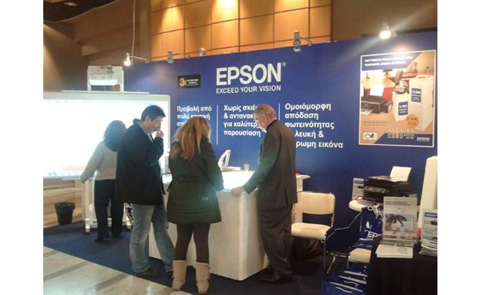 Epson: Παρουσία στην E-Learning Expo