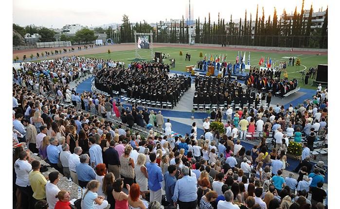 Η ετήσια εκδήλωση αποφοίτησης του DEREE