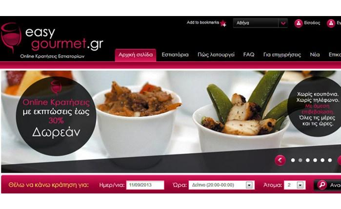 Η Atnet σχεδίασε το easygourmet.gr