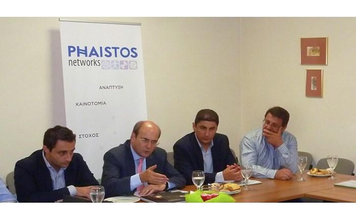 Επίσκεψη Χατζηδάκη στη Phaistos Networks