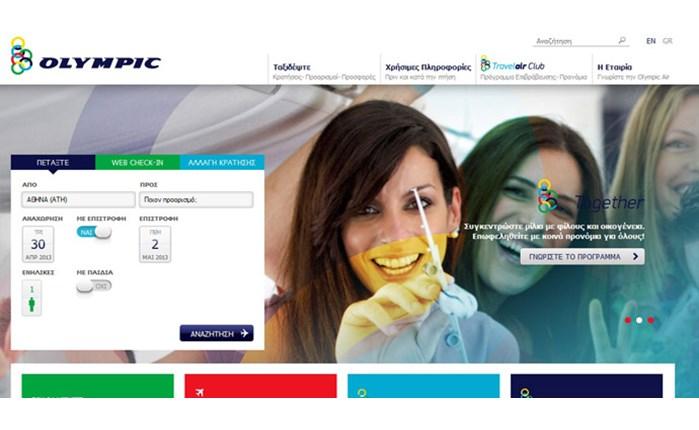 Συνεργασία Olympic Air με λinakis digital