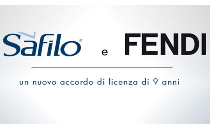 Συνεργασία της Safilo με τον οίκο Fendi