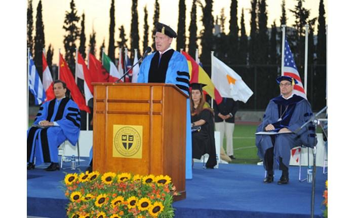Τελετή Αποφοίτησης στο κολλέγιο DEREE