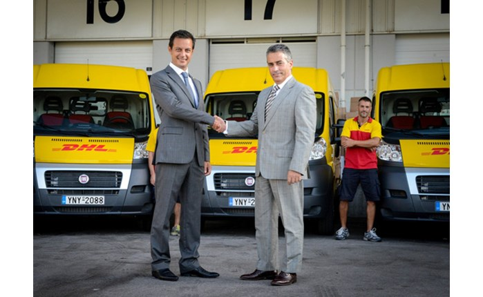Fiat: Παράδοση οχημάτων στη DHL