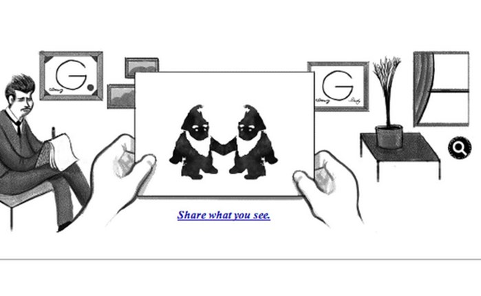 Hermann Rorschach Google doodle