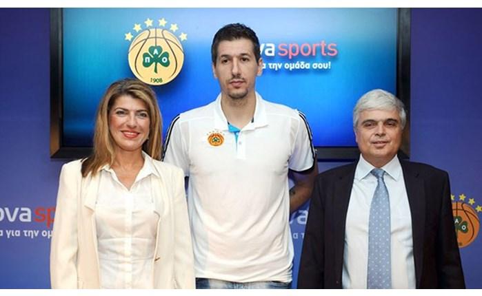 Συνεργασία Novasports με Παναθηναϊκό