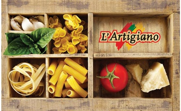 Rebranding της L\'Artigiano από την 2yolk