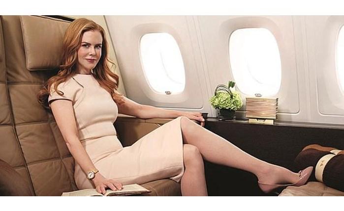 Etihad Airways: Καμπάνια με τη N. Kidman