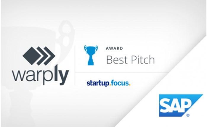 Warply: Διάκριση σε πρόγραμμα της SAP