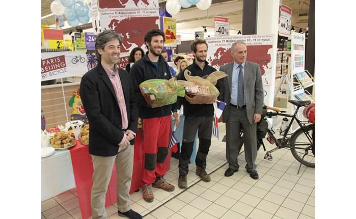 Carrefour: Στηρίζει το ποδηλατικό ταξίδι Γαλλία-Κίνα