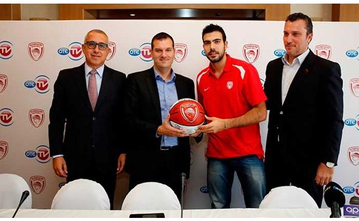 Συνεργασία Ολυμπιακού με τον OTE TV!