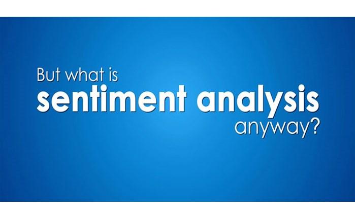 Sentiment Analysis. Ο καλός, ο κακός και ο ουδέτερος
