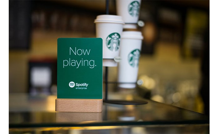 Starbucks: Συνεργασία με Spotify