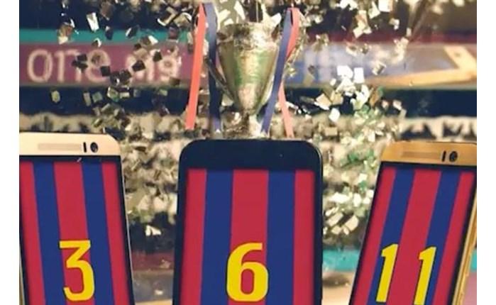 HTC: Animation videos για το Champions League