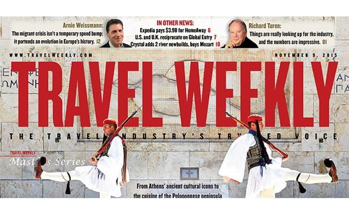 H Ελλάδα κεντρικό θέμα στο Travel Weekly