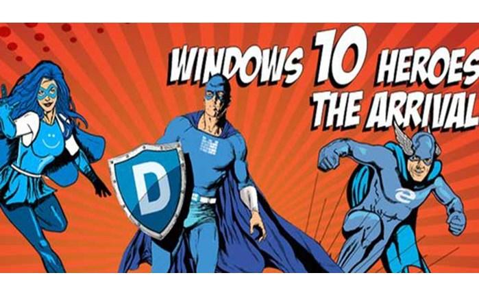 """Οι """"Windows 10 Super Ήρωες"""" είναι ανάμεσα μας!"""