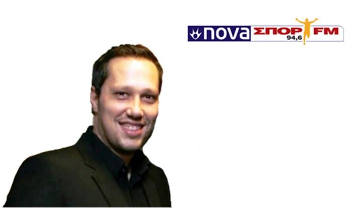 NovaΣΠΟΡ FM: Επέστρεψε ο Β. Σαμπράκος