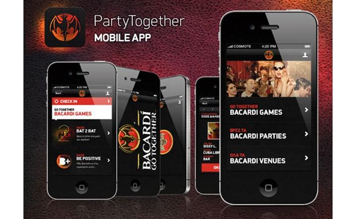 Mobile app της OgilvyOne για το Bacardi