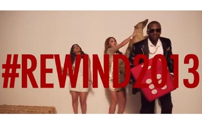 #Timeliners_ads: #Rewind2013 & Facebook vs TV