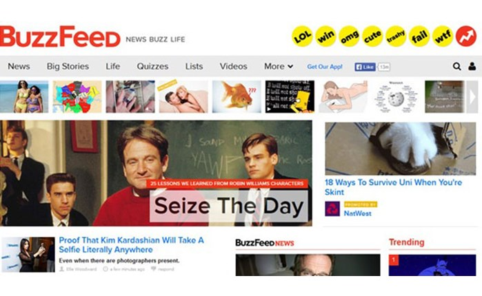 BuzzFeed: Διαφημιστική συνεργασία με WPP