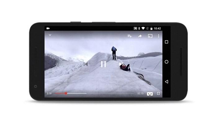 YouTube: Play στην εικονική πραγματικότητα