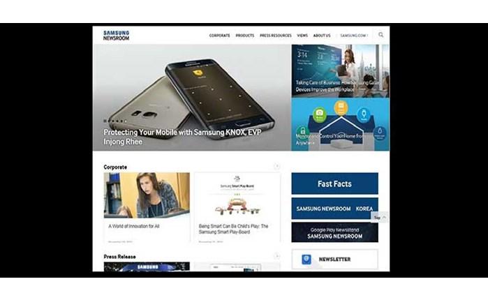 Η Samsung παρουσιάζει το Samsung Newsroom