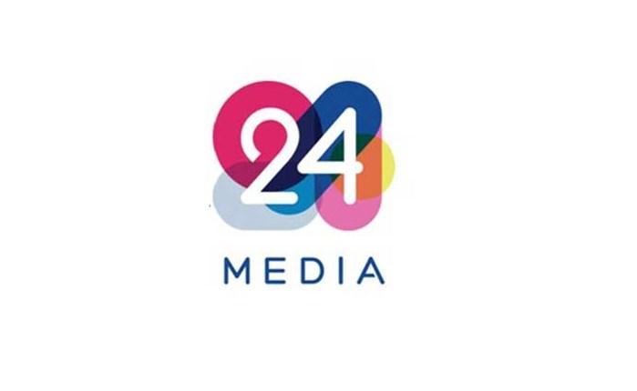 Η 24MEDIA παρουσιάζει το νέο της λογότυπο
