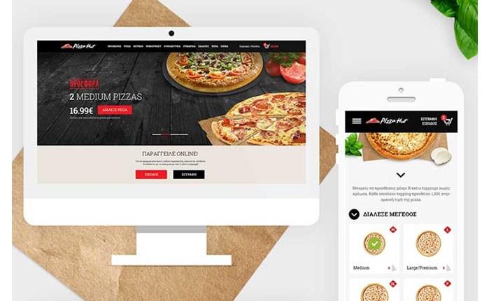 Από την ΟgilvyOne το νέο website της Pizza Hut