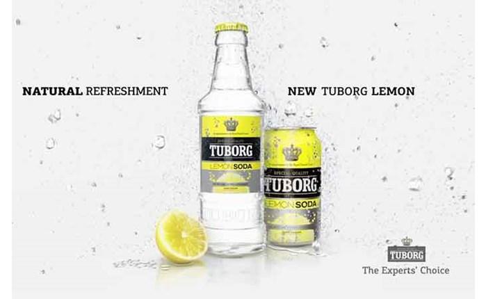 Η McV&H υπογράφει το λανσάρισμα της TUBORG Lemon Soda