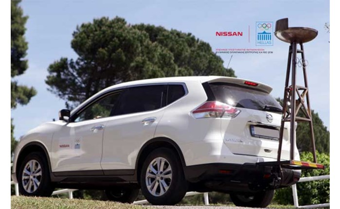 Nissan: Στηρίζει τη μεταφορά της Ολυμπιακής φλόγας