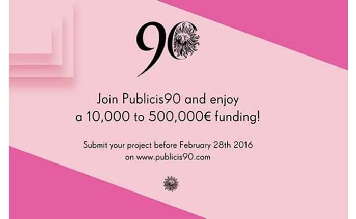 Publicis: Shortlist για το Publicis90