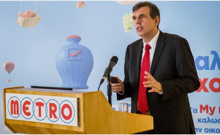 Manager of the Year 2015, ο CEO της METRO ΑΕΒΕ