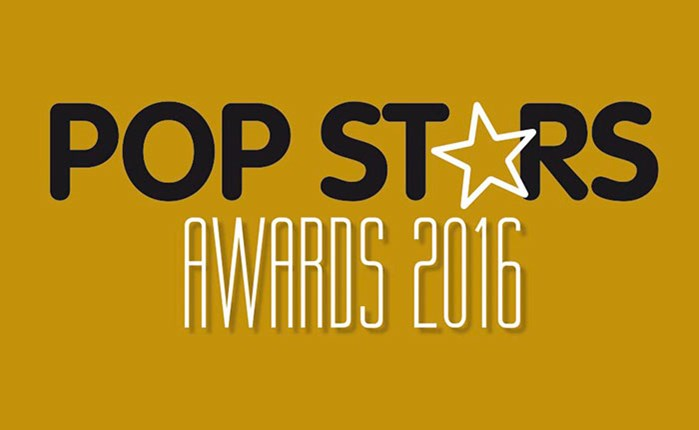 Pop Star Awards 2016 από Direction και RetailBusiness