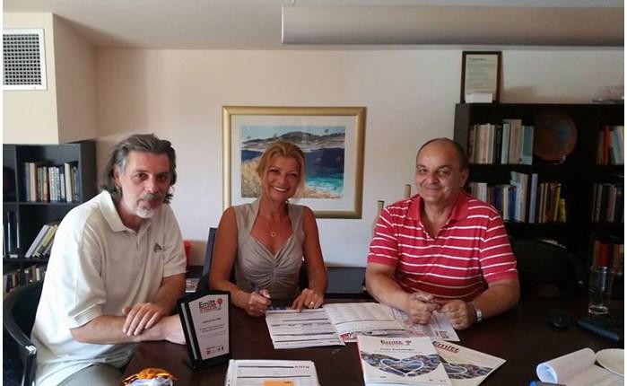 Επικοινωνία Αιγαίου: Συνάντηση με τη Διευθύντρια της ΕΜΙΤΤ